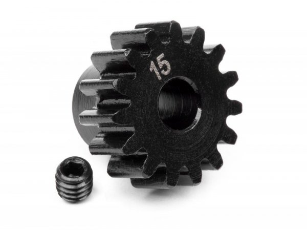 PINION GEAR 15 TOOTH (1M / 5mm SHAFT) 100914