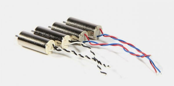 Nano Micro  Silnik Hubsan  z przewodem niebieskim