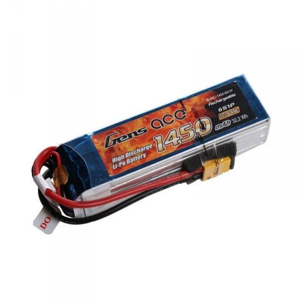 Akumulator Gens Ace: 1450mAh 22.2V 45C