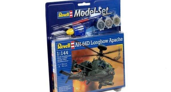 Revell 64046 Model Set AH-64D Longbow Apache
