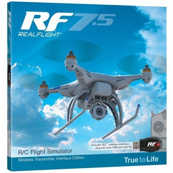 Symulator Realflight RF7.5 SLT Wireless Transmitte