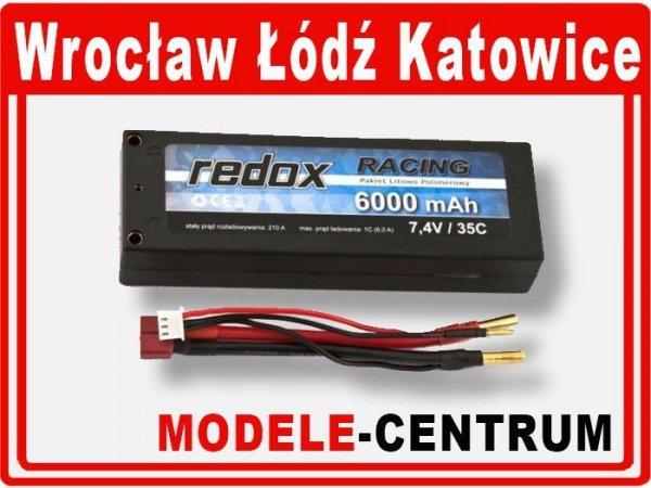 Akumulator Redox RACING 6000 mAh 7,4V 35C