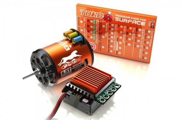 Zestaw napęd 1/10 +regulator ESC 60A +silnik+karta
