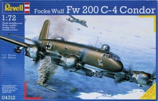 REVELL Focke Wulf Fw 200 C-4 Condor Bomber