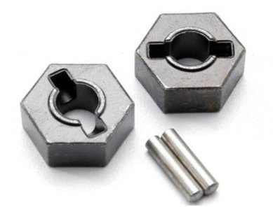 TRAXXAS [4954R] - HEX z piastą 2,5x12mm - stal