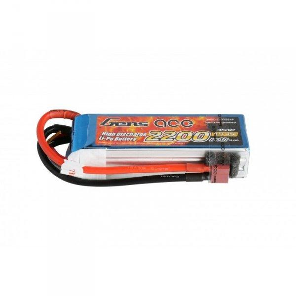 Akumulator Gens Ace: 2200mAh 11.1V 45C