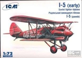 ICM 72052 1/72 I-5 Russian Fighter -early