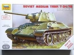 Zvezda 5001 (1/72) T-34