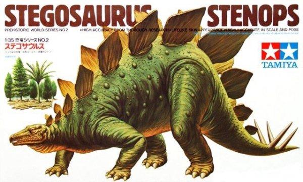TAMIYA 60202 - 1/35 Stegosaurus Stenops