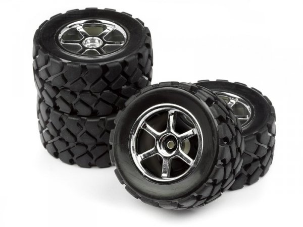 MOUNTED VT TIRE/WHEEL SET (4PCS) 105524