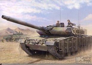 HOBBY BOSS 82458  1/35  Leopard 2A6M CAN