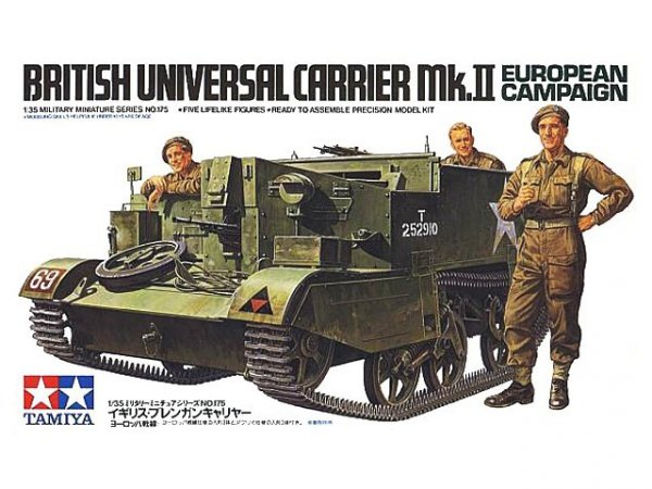 Tamiya 35175 BRITISH UNIVERSAL CARRIER MKII