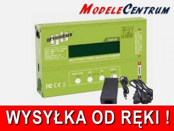 Ładowarka GPX Greenbox Extreme + zasilacz