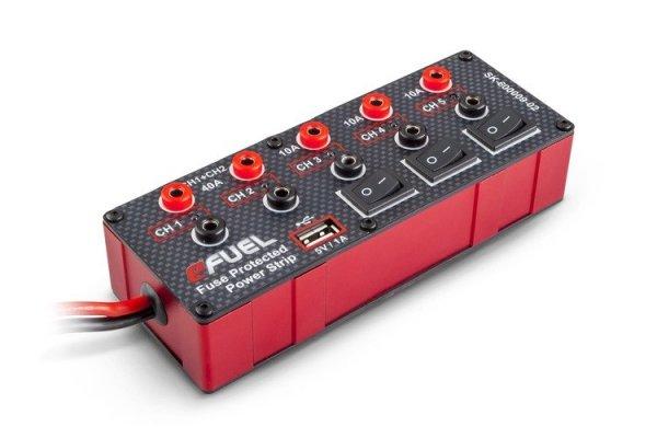Listwa Zasilająca Na 5 Ładowarek eFuel 6-24V +USB