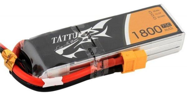 Akumulator Tattu 1800mAh 11,1V 75C 3S1P