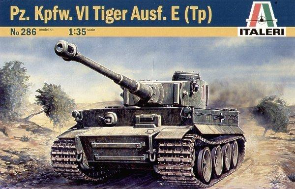 Italeri TIGER I AUSF E/H 1 -  286