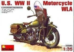 MiniArt 35080 1/35 U.S WWII Motorcycle WLA
