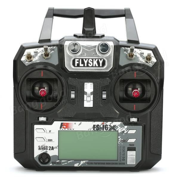 Aparatura FlySky FS-i6x + odbiornik A6B ( 6 kan)