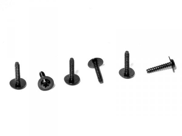 TP. FLANGED SCREW M2.6x12mm (6pcs) Z488