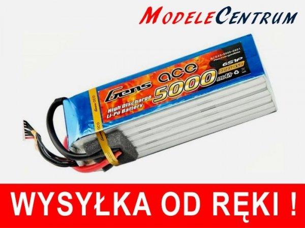 Akumulator Gens Ace 5000mAh 22.2V 45C 6S1P