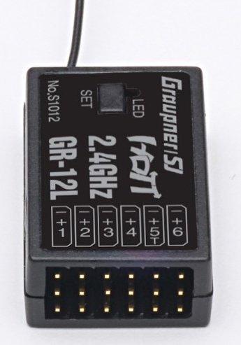 Odbiornik 6Ch Graupner GR-12L 2,4Ghz