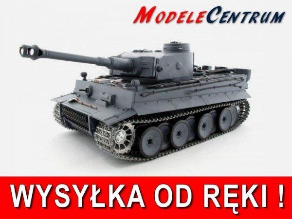 Czołg German Tiger 1  1:16  Dym + Metal Heng Long