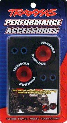 TRAXXAS[5186] - koła wheelie bar z łożyskami