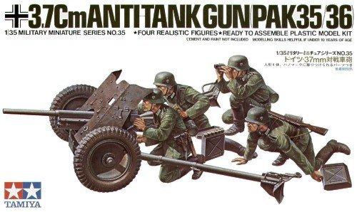Tamiya 35035 GER. 37mm ANTI-TANK 1/35