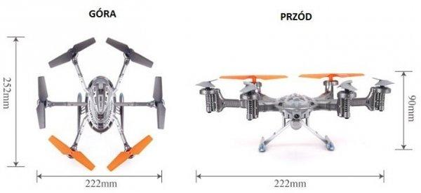 Dron Walkera QR Y100 2.4GHz BNF (moduł Wi-Fi, Andr