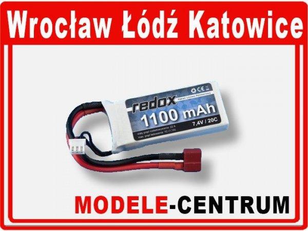 Akumulator Redox 1300 mAh 11,1V 20C -  LiPo