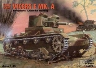 RPM 35071 1/35 LIGHT TANK VICKERS E MK.A