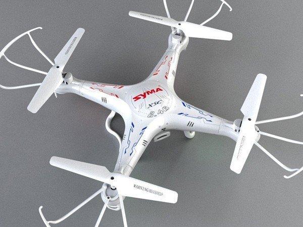 Dron Syma X5C 2.4GHz z kamerą HD + 4GB
