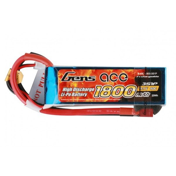 Akumulator Gens Ace: 1800mAh 22.2V 45C