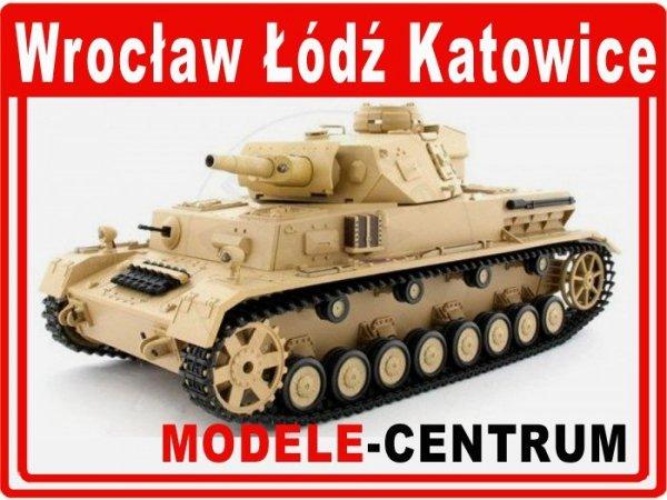 Czołg Panzer  IV 1:16 ASG pustynny