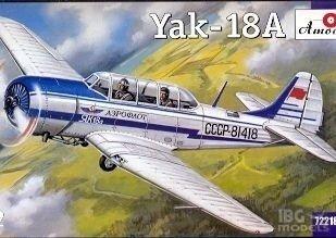 Amodel 72218 1/72 Yak-18A