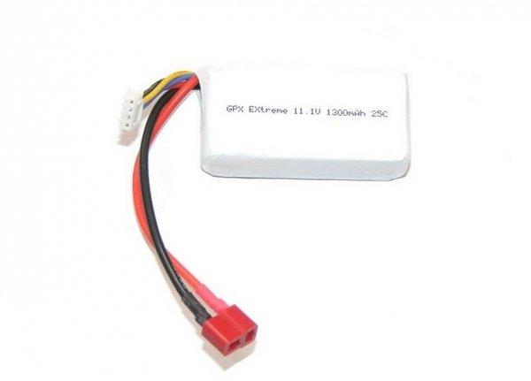 Akumulator GPX Extreme 11,1V 1300 mAh 25C LiPo