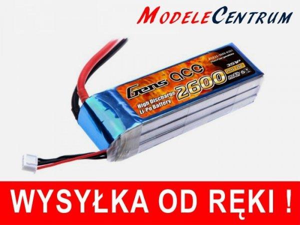 GENS 11.1V LiPo 2600mAh tx Akumulator