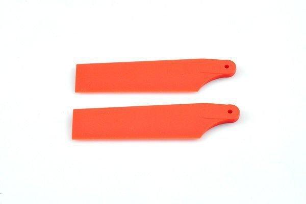 450 SPORT/PRO – Łopatki ogonowe czerwone FLUO