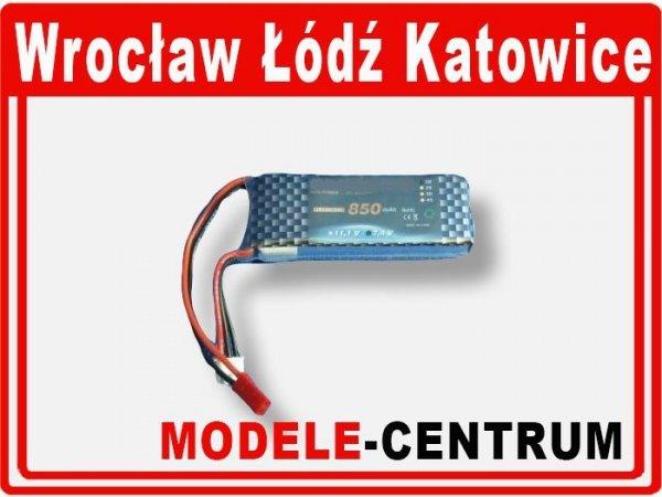 Akumulator bateria 7,4V 850mAh 2-cell Li-P 20 C TU