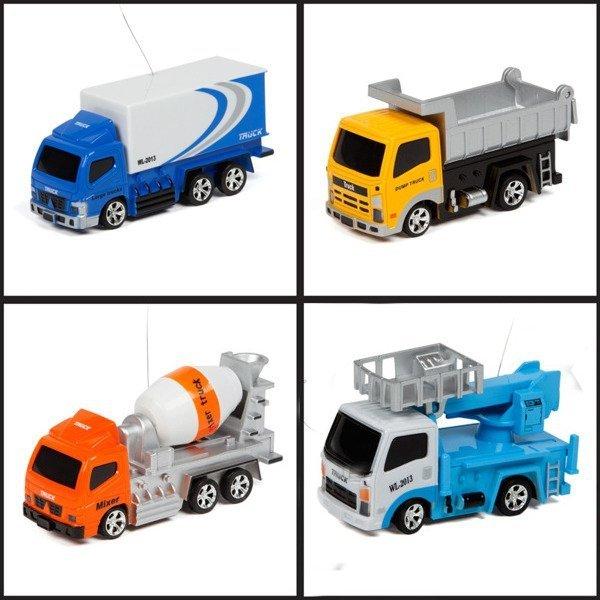 Mikro samochód ciężarowy zdalnie sterowane 1:64