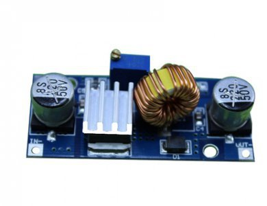 FPV - przetwornica 5A, 4-38V na 1,25-36V - DC-DC - step-down - dowolnie regulowana