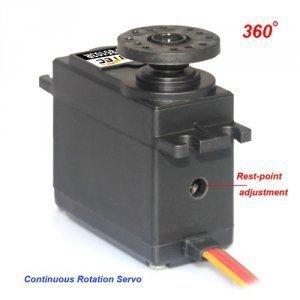 Serwo obrotowe 360 stopni - FS5106R - 6,0kg/cm