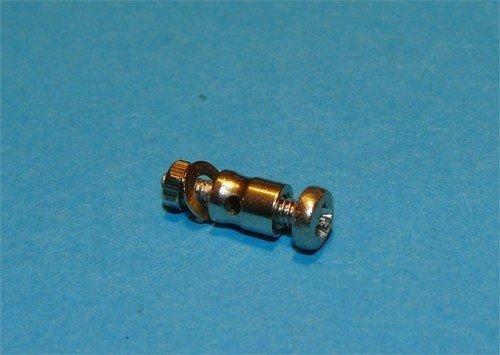 Mocowanie bowdena na serwo 1mm