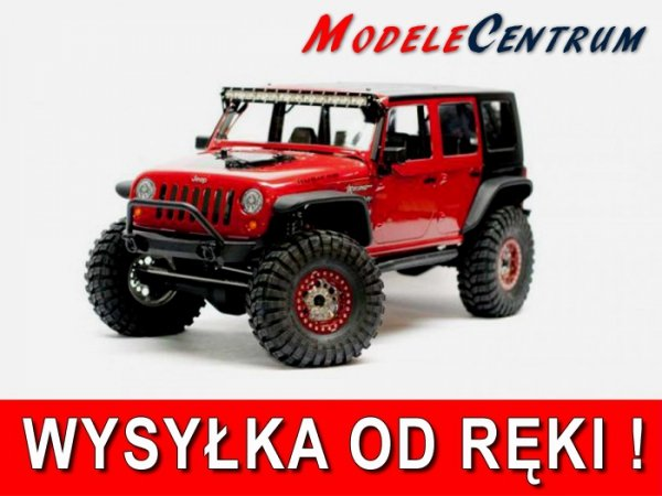 Axial: Axial SCX10 Jeep Wrangler Unlimited Rubicon KIT