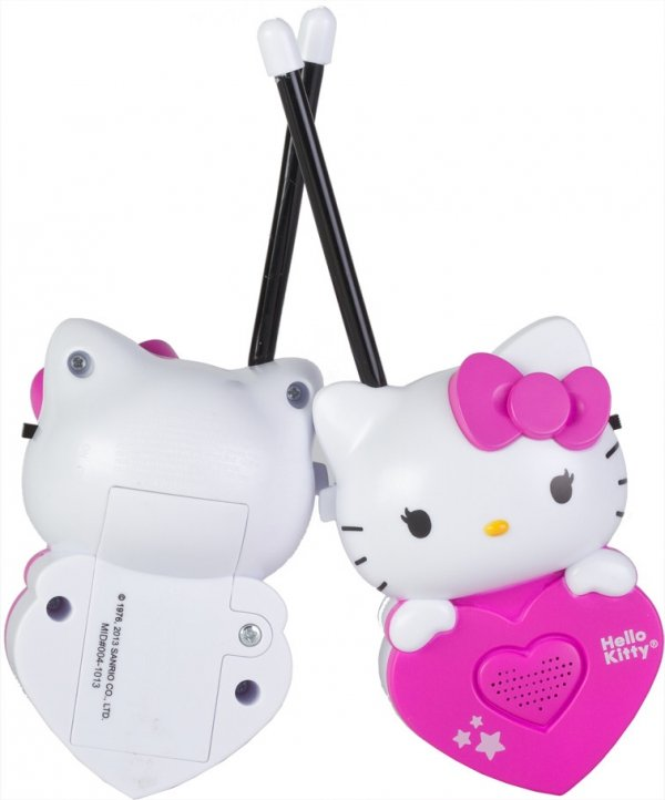 WALKIE TALKIE HELLO KITTY