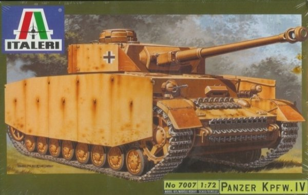 ITALERI  - Panzer Kpfw.IV  1/72 7007