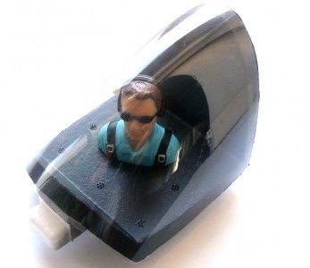 Kabinka z szybką i pilota Sky Surfer