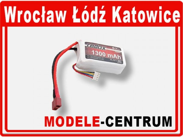 Akumulator Redox 1300mAh 11,1V 30c - LiPol