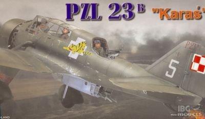 Plastyk S-063 PZL 23B Karaś