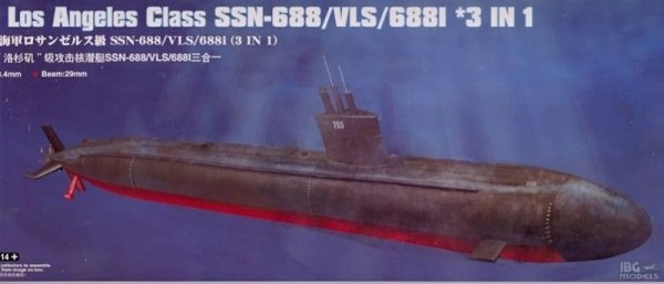 HOBBY BOSS 83530 1/350 USS Los Angeles